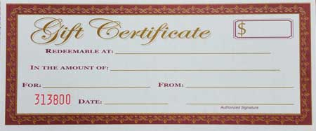 Gift Certificate for Low Vision items